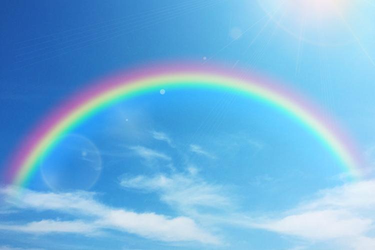 虹の夢の夢占い
